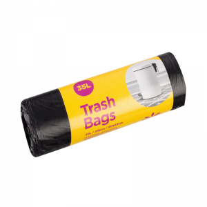 McLean-Home Roskapussi musta HD 35L, 20kpl/rll