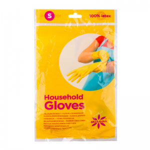 McLean-Home Rubber Gloves flock lined, S
