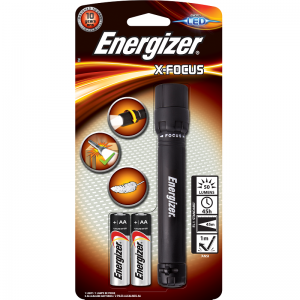 Energizer flashlight X-Focus