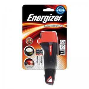 Energizer väike kummist taskulamp Impact+2AAA