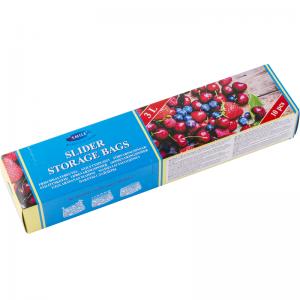 Smile Пластиковые пакеты с застежкой 3л, 26,8x28,5 см, 10 шт