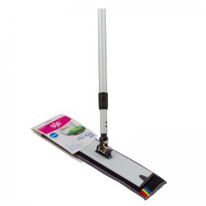 McLean-Prof. microfiber floor mop set 40 cm (mop pad + frame + telescopic handle)