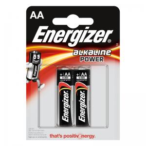 Energizer, AA (LR6) Power, alkaliparisto, 2kpl
