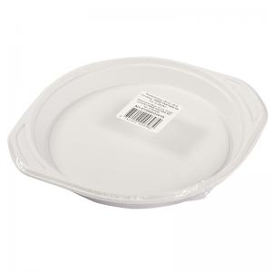 Elise Plastic plate 22cm, 10 pcs/pack