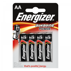 Energizer AA (LR6) alk.battery 4 pcs/bl