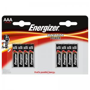 Energizer AA (LR6) Classic alk.battery, 8 pcs/bl
