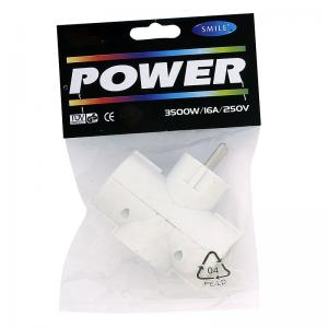Power, Haaroitin 3-osainen, valkoinen