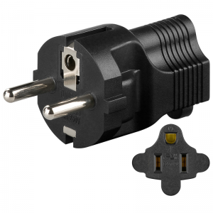 Adapter US - EURO CEE 7/4