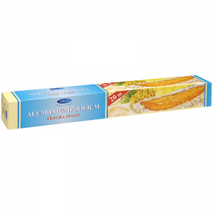 Smile aluminium foil 20 m, in box