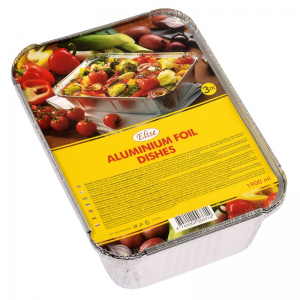 Elise aluminium foil dishes 1,9 L, 3 pcs