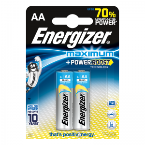 Energizer Щелочная батарейка AA (LR6) Maximum 2 шт/уп