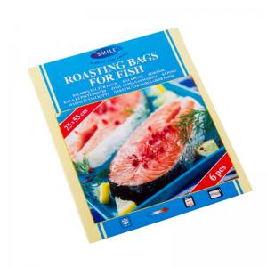 Smile küpsetuskotid kalale 25 x 55 cm, 6 tk