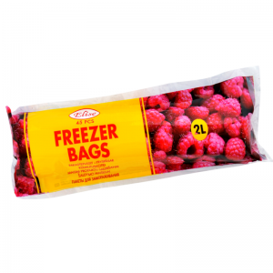Elise freezer bags, 2L, 45 pcs/roll