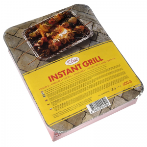 Elise instant grill, 25x31cm, charcoal ca 600g