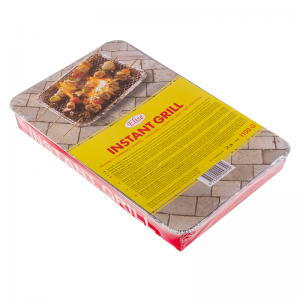 Elise instant grill, 48x31cm, charcoal ca 1100g
