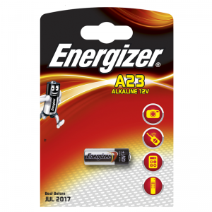 Energizer, E23A, alkaliparisto, 12V