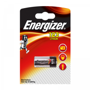 Energizer, EL123AP litiumparisto, 3V