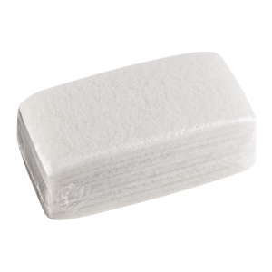 McLean-Prof scouring pads, white 12x25cm, 5 pcs