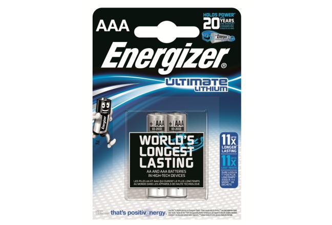 Energizer, L92, AAA litiumparisto, 2kpl