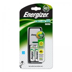 Energizer, Recharge mini paristolaturi 2000 + 2 x AA paristoa