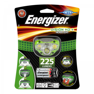 Energizer pealamp Vision HD Plus k.a. 3xAAA