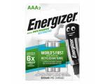 Energizer Аккумуляторы AAA/HR03 800 mAh, 2 шт
