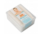Smile cotton buds in polybag, 160 pcs