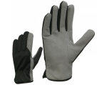 McLean Pig leather/cloth gloves, adjustable wrist M
