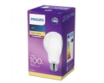 Philips LED lamp A60 7W E27 806lm 827 15000h matte glass