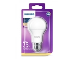 Philips LED lamp A60 8,5W E27 1055lm 827 15000h matta lasi