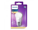 Philips LED lamp P45 5,5W E27 470lm 827 15000h matte glass