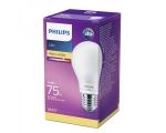 Philips LED lamp A60 4,5W E27 470lm 827 15000h matte glass