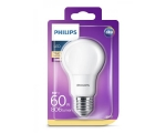 Philips LED lamp A60 8W E27 806lm 827 15000h matte