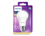 Philips LED lamp A60 8,5W E27 1055lm 827 15000h matte glass