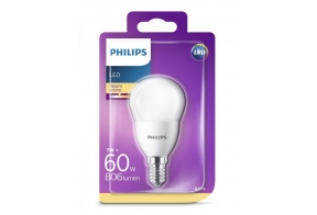 Philips LED lamp P48 7W E14 806lm 827 15000h