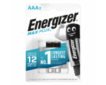 Energizer AAA (LR03) Max Plus alkalie battery, 2 pcs/bl