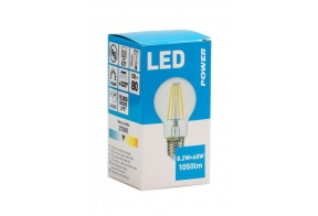Filament LED bulb GLS 1060LM E27, Power