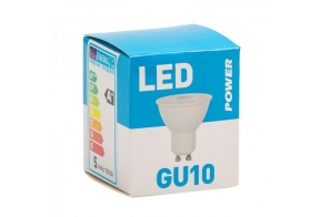 LED lamp GU10 400LM 36°, Power