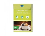 Coffeefilters no. 2, unbleached, 80 pcs in box