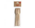 Wooden forks 10pcs, bag, Elise