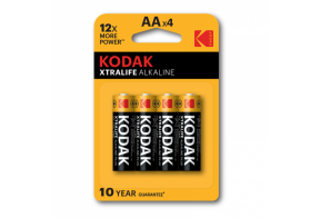 Kodak XTRALIFE alkaline battery 4pcs