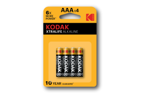 Kodak XTRALIFE alkaline battery AAA 4pcs