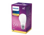 Philips LED lamp A60 10,5W E27 1521lm 827 15000h matt klaas