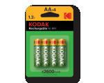 Kodak K620E laadija AA ja AAA Ni-MH patareidele +4xAA patareid (WW versioon)