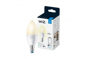 WiZ LED lamp Wi-Fi C37 4,9W 470lm E14 2700K 15000h dimmable