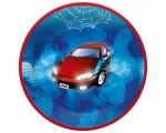 Paper plates 23cm, 8 pcs, Car
