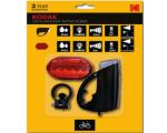 Kodak 9-LED-taskulamppu + 3 AAA, musta