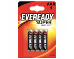 Eveready Super Heavy Duty paristo, AAA (R3), 4kpl