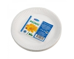 Smile Paper plates 22cm, 25 pcs, extra strong