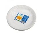 Smile Бумажные тарелки особо прочные, 22 см, 25 шт,